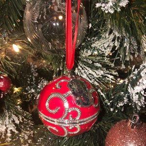 Pandora ornament with pandora charm inside!